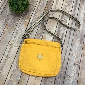 Kipling Bright Yellow Crossbody Shoulder Bag